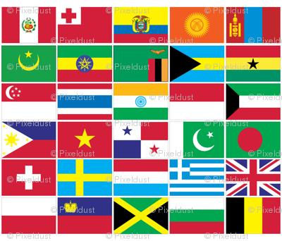 International Flag Bunting #3