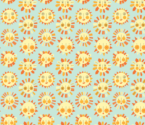 let_it_shine fabric by amel24 on Spoonflower - custom fabric