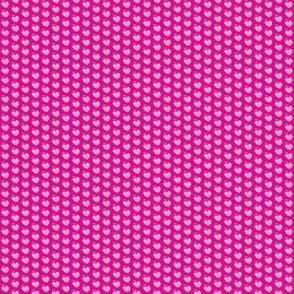 pink stripe heart