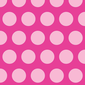 Big Pink Polka Dots