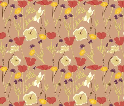 Autumn Fields 3 fabric by marlene_pixley on Spoonflower - custom fabric