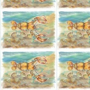 Lu_beach_Quilt_lobster