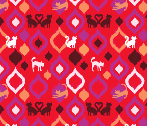 Icat fabric by acbeilke on Spoonflower - custom fabric