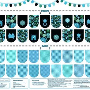 Banner/Bunting Kit - Blues