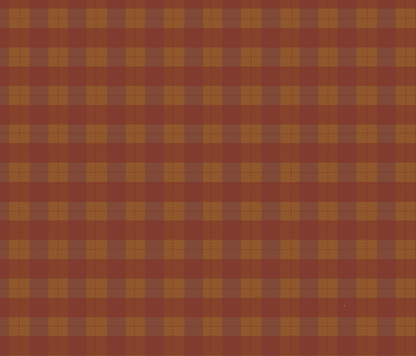 Coordinating Basset Plaid fabric by asilo on Spoonflower - custom fabric