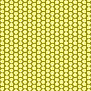 yellows pentacle tiny repeat
