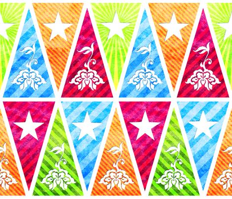 Flags fabric by jadegordon on Spoonflower - custom fabric