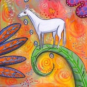Magic White Pony