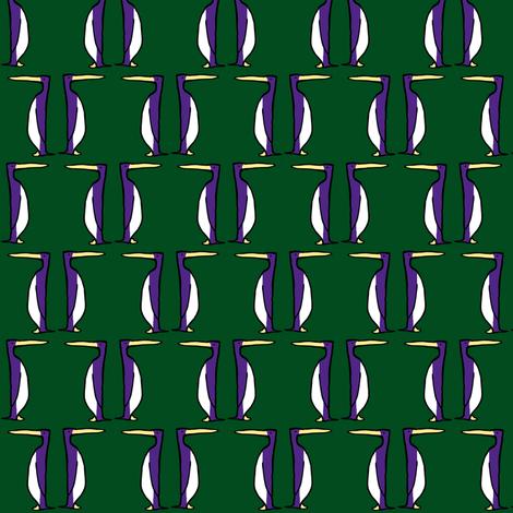 Purple Penguins fabric by pond_ripple on Spoonflower - custom fabric