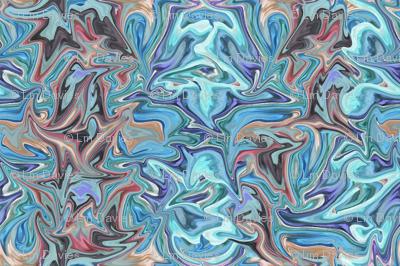 Turquoise Sploosh