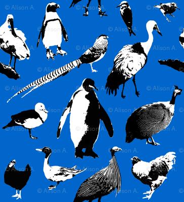 Exotic Bird Fabric
