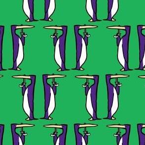 Dueling Penguins