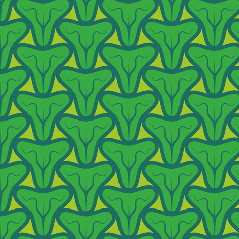 Catsnose (Cool Colours) fabric by nekineko on Spoonflower - custom fabric