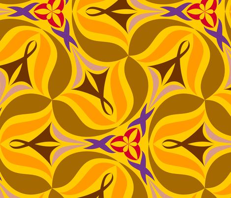 Vilda D X-Large fabric by helena on Spoonflower - custom fabric
