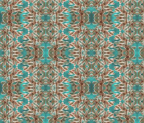 Hosta Waltz - Cloudy fabric by haleystudio on Spoonflower - custom fabric