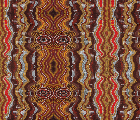 305_water_serpent_dreamingCC fabric by weerongabartoo on Spoonflower - custom fabric