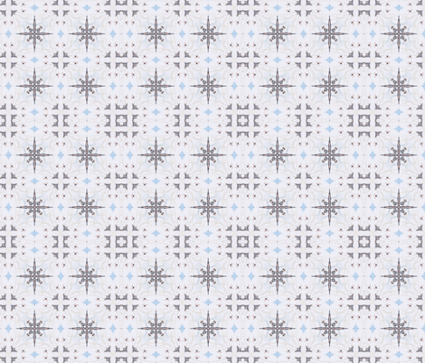 Snowflake fabric by captiveinflorida on Spoonflower - custom fabric