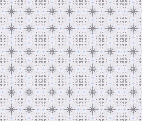 Snowflake fabric by captiveinflorida on Spoonflower - custom fabric