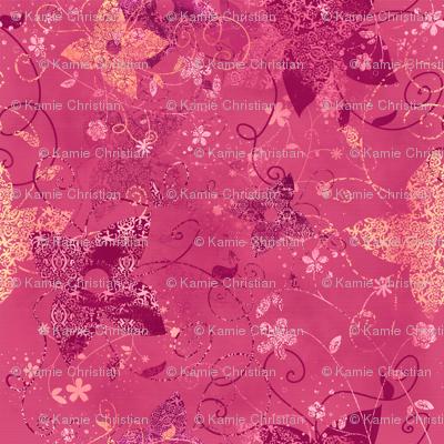 Vintage Garden Pink