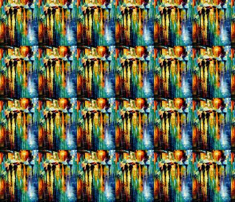 Rainy Etude fabric by afremov_designs on Spoonflower - custom fabric