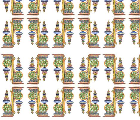 ROCOCO fabric by bertschcreek on Spoonflower - custom fabric