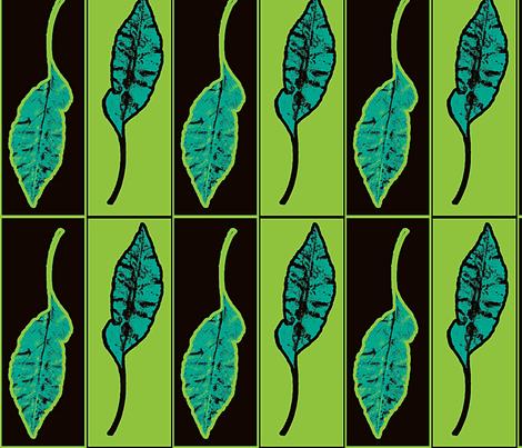Releaved (Verdant) fabric by nalo_hopkinson on Spoonflower - custom fabric