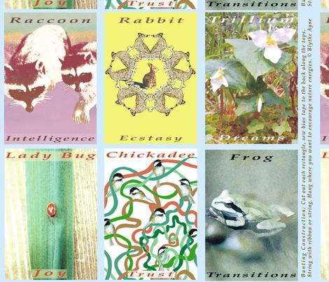NatureBunting-Blythe fabric by blythe_ayne's_fabric_designs on Spoonflower - custom fabric