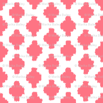 Beyond the Sea: Ikat Coral