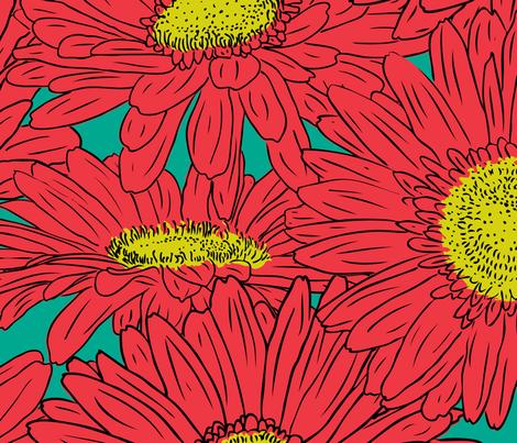 FireFlower fabric by jmckinniss on Spoonflower - custom fabric
