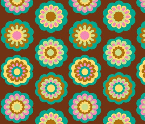 Rrretro_flowers_on_brown_tile_copy_shop_preview