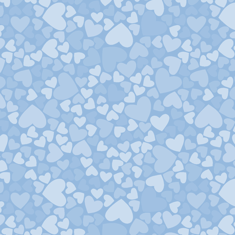 Whoo Loves Blue? fabric by saraink on Spoonflower - custom fabric