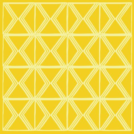 AfroModern No.3 (Saffron)  fabric by angela_williams_art+design on Spoonflower - custom fabric