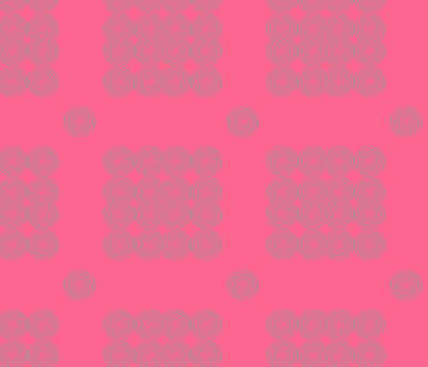 AfroModern No.6 (salmon+grey) fabric by angela_williams_art+design on Spoonflower - custom fabric