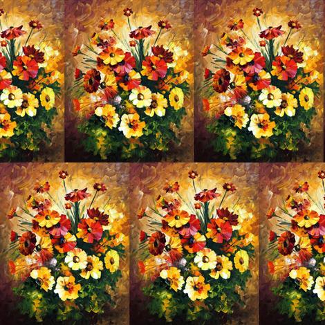 Songs of My Heart fabric by afremov_designs on Spoonflower - custom fabric