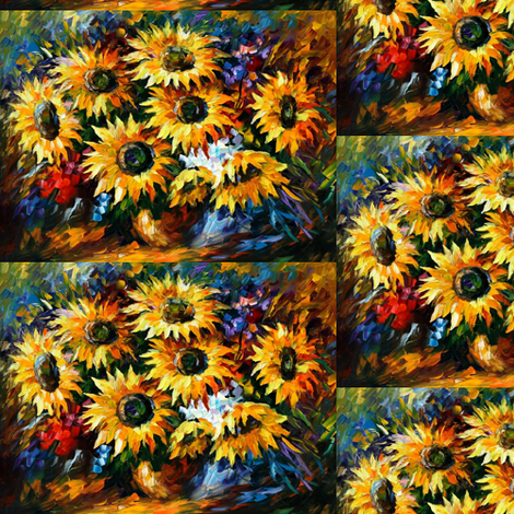 Burst of Joy fabric by afremov_designs on Spoonflower - custom fabric