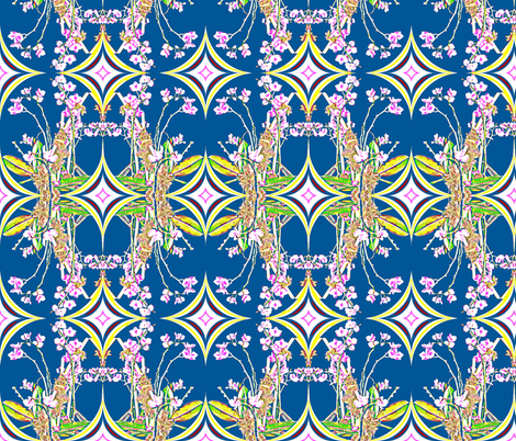 Orchids fabric by robin_rice on Spoonflower - custom fabric