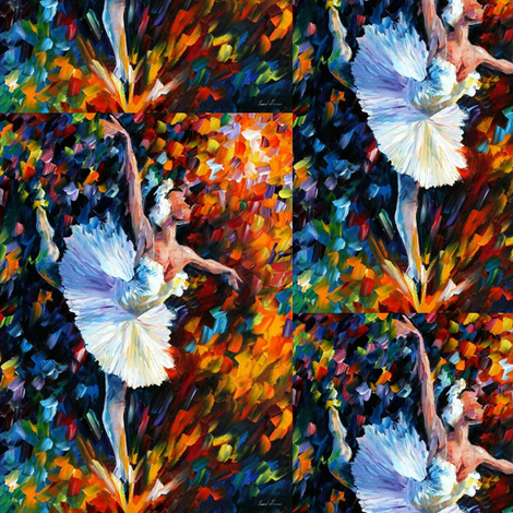 Dance of the Soul fabric by afremov_designs on Spoonflower - custom fabric