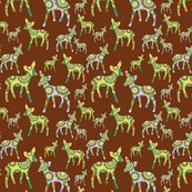Rpink_and_yellow_deer_on_brown_fabric_16inch_tile_copy_shop_thumb