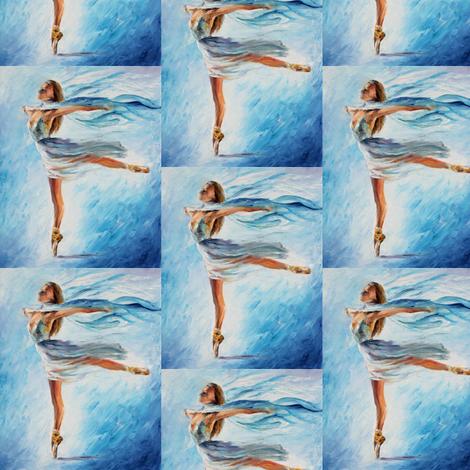 The Sky Dance fabric by afremov_designs on Spoonflower - custom fabric