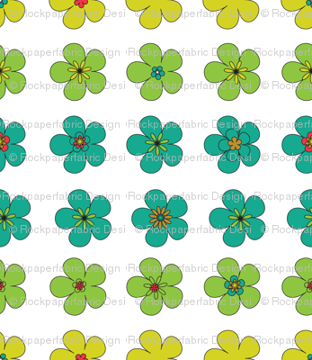 multicolor daisy large