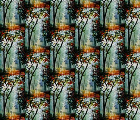 Golden Path fabric by afremov_designs on Spoonflower - custom fabric