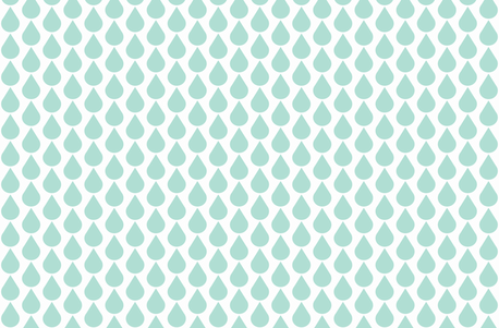 Mini raindrop mint fabric by ninaribena on Spoonflower - custom fabric