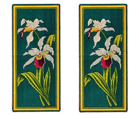 Peterson's Iris Inspiration fabric by karenharveycox on Spoonflower - custom fabric