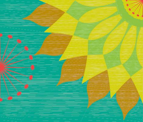 LeilaM_Botanical_Contest fabric by hannal on Spoonflower - custom fabric