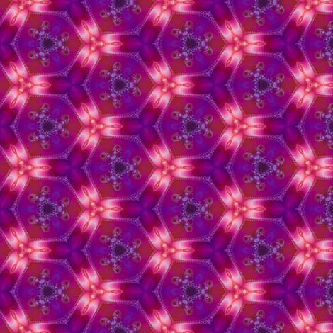 Plasma Flower fabric by coriander_shea on Spoonflower - custom fabric