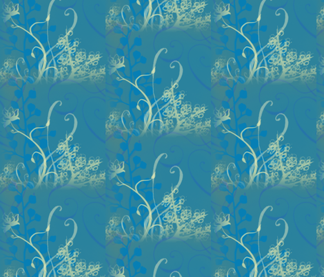 Waterlily fabric by coriander_shea on Spoonflower - custom fabric