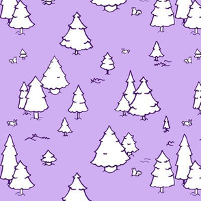 A Lot of Trees - Purples