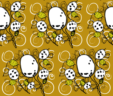 botanical1 fabric by peppermintpatty on Spoonflower - custom fabric