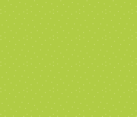 tiny_white_on_green_polka_dot fabric by featheredneststudio on Spoonflower - custom fabric
