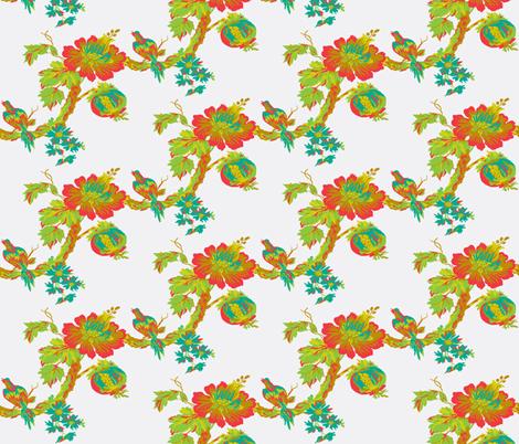 Botanical Paradise Tree fabric by paragonstudios on Spoonflower - custom fabric